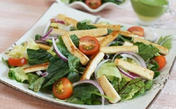 giảm cân với rau diếp cá