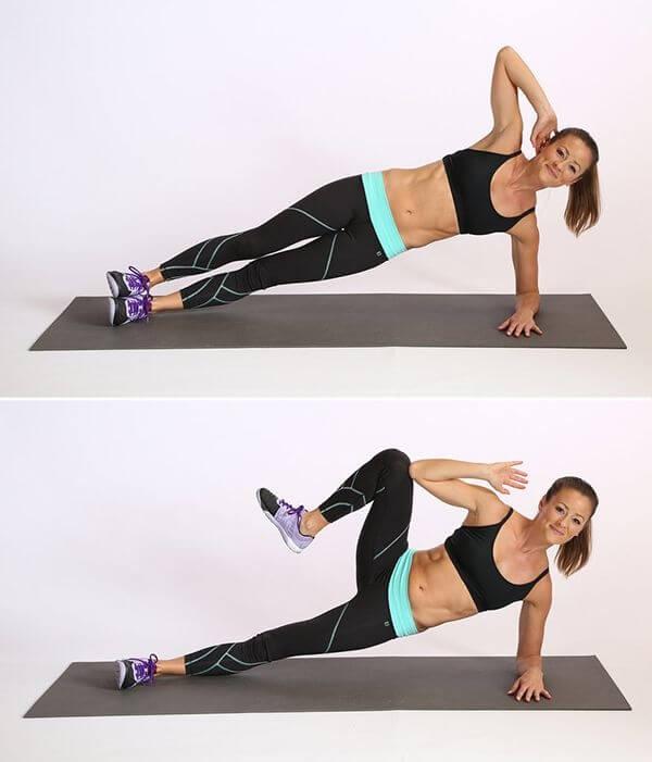 bài tập plank giảm mỡ bụng cho nữ