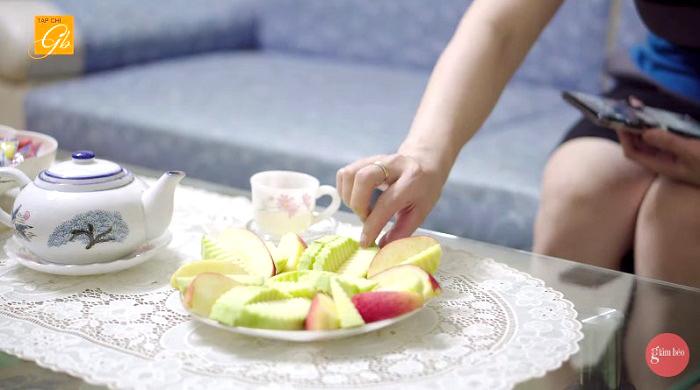 giảm béo sau sinh mổ