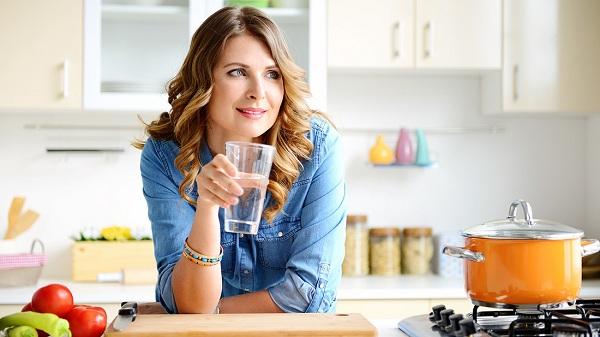 Uống nước lọc giảm cân không