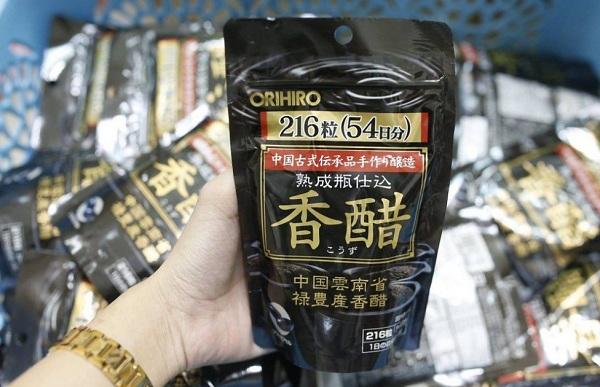 viên uống giấm đen giảm cân nhật orihiro,viên uống giấm đen giảm cân nhật orihiro webtretho,review viên uống giảm cân giấm đen orihiro,cách uống viên giấm đen giảm cân