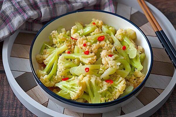 bông cải trắng giảm cân,cách chế biến sup lơ để giảm cân,súp lơ trắng giảm cân,