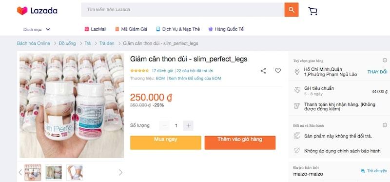 thuốc giảm cân slim perfect legs có tốt không thuốc giảm cân slim perfect legs review thuốc giảm cân slim perfect legs