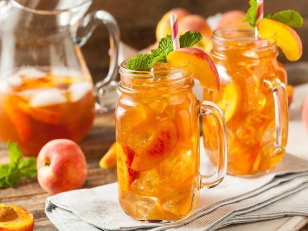 trà đào cam sả có giảm cân không, trà đào cam sả bao nhiêu calo, công dụng của trà đào cam sả