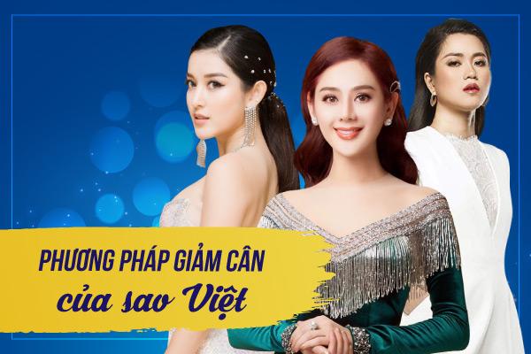 Chuyệngiảm cân không của riêng ai   Đây là phương pháp giảm cân của sao Việt