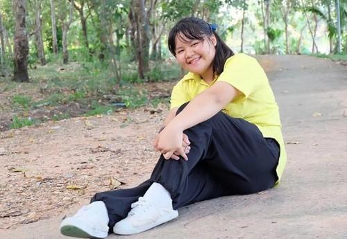 Wanwisa Nanongtoom có thân hình mũm mỉm