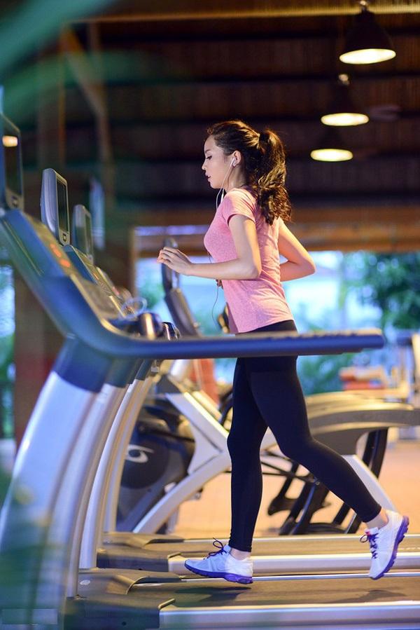 hành trình giảm cân giữ dáng của hoa hậu Kỳ Duyên