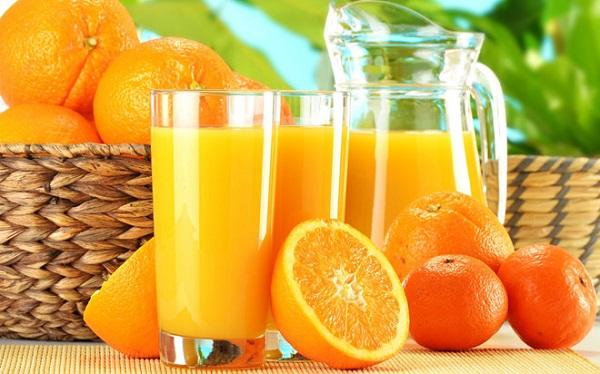 giảm cân với bằng cách ăn, uống nước cam buổi tối có giúp giảm cân không, tăng cân, béo (mập) không, giảm béo mỡ bụng không