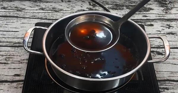 cách uống nước đỗ đậu đen rang có giảm cân sau sinh đúng cách không