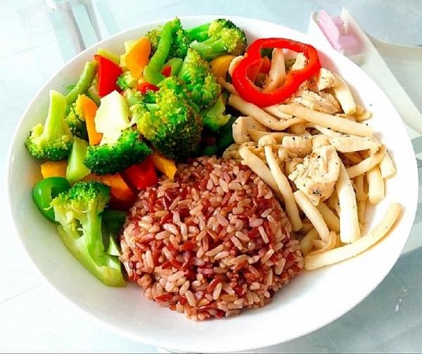 thực đơn giảm cân nhanh với gạo lứt muối mè, từ gạo lứt(lức)