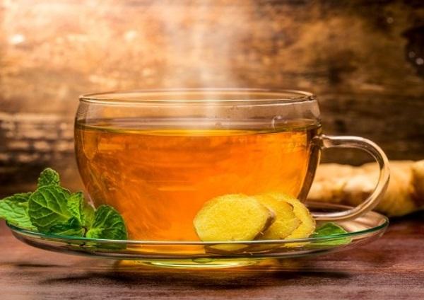 Giảm cân với gừng và mật ong, trà