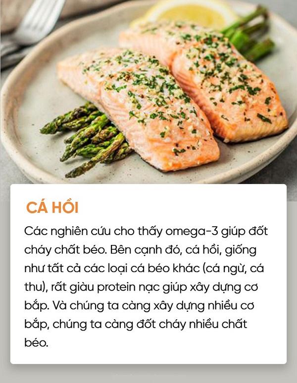 10 loại thực phẩm giảm cân