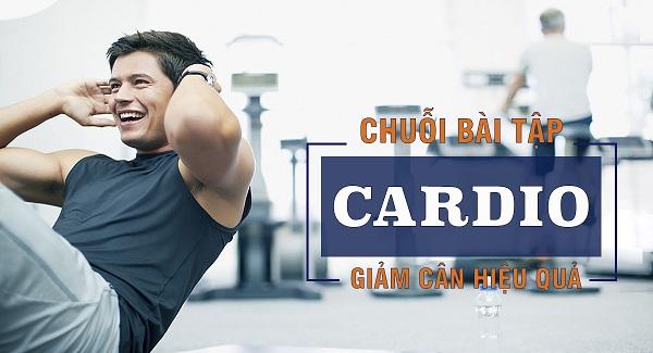 Top các bài tập cardio giảm cân cho nam hiệu quả tại nhà