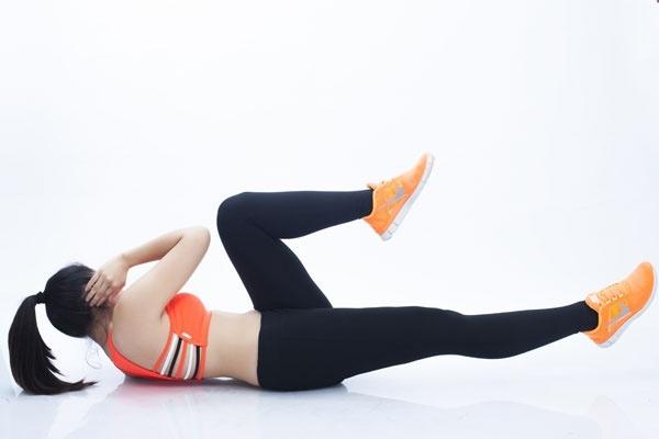 bài tập giảm cân eo thon