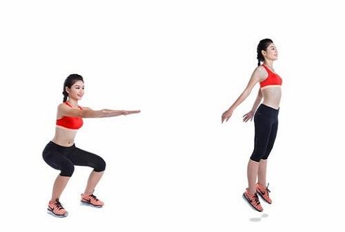 Bài tập Squat giảm cân cho nữ