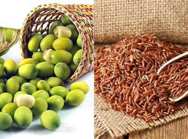 Kết quả hình ảnh cho gạo lứt hạt sen