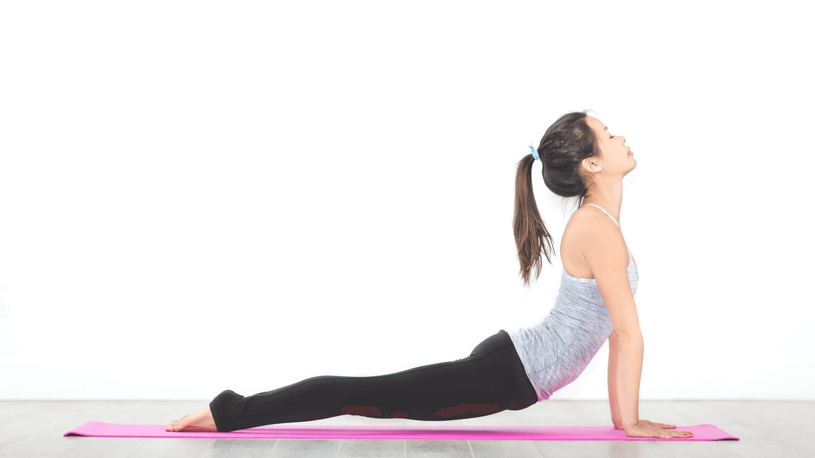 Các bài tập yoga giảm cân tại nhà