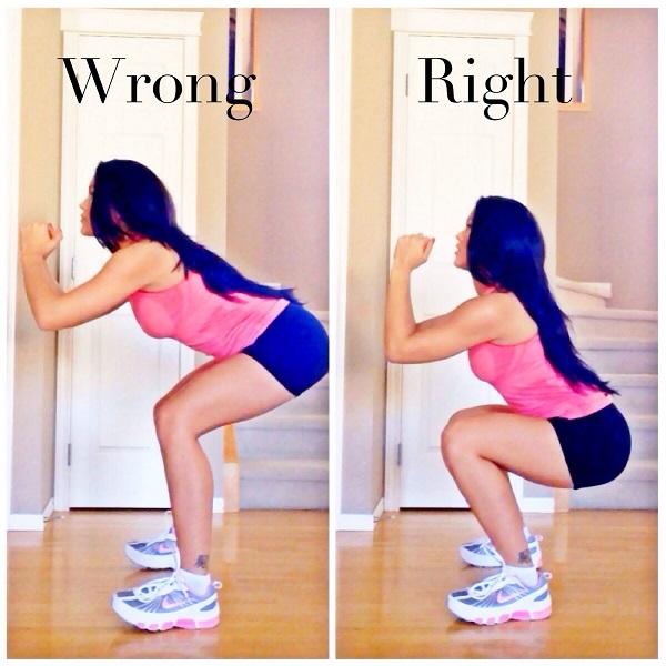 Những sai lầm khi tập luyện khiến các chị em Squat giảm cân không hiệu quả