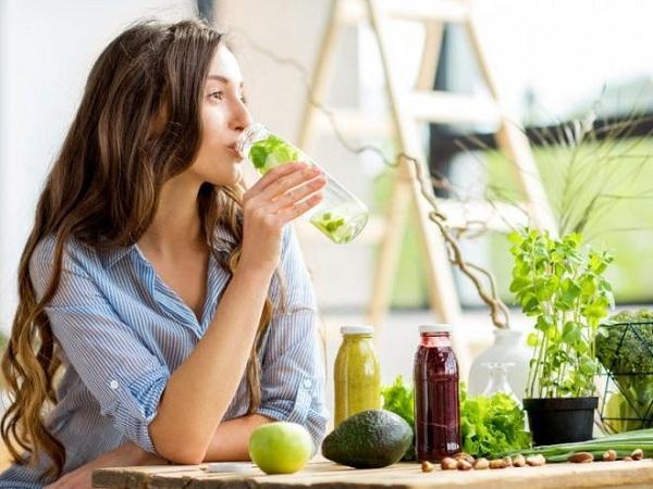 nước uống detox giảm cân đẹp da