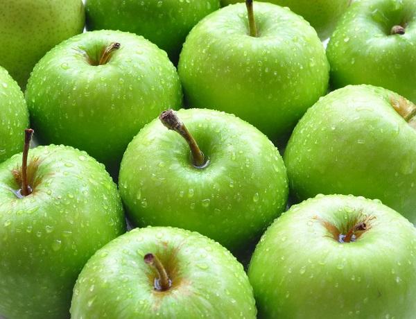 thực đơn giảm cân bằng táo xanh