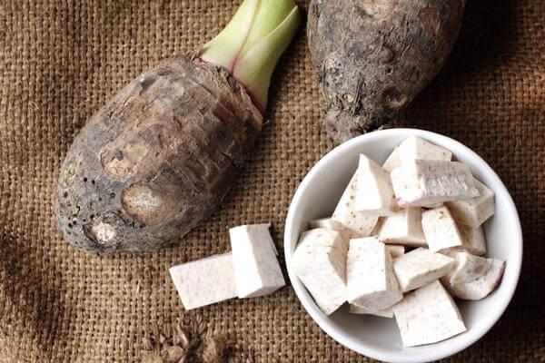 tác dụng giảm cân của bằng(với) ăn khoai sọ luộc có tác dụng giúp giảm cân béo được không