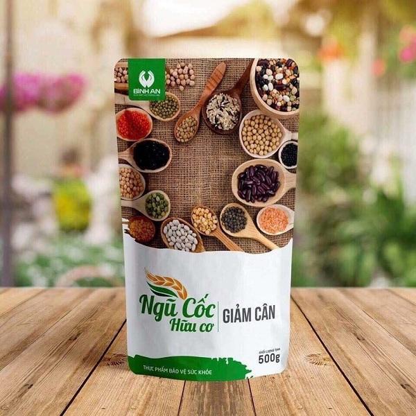 Bột ngũ cốc hữu cơ giảm cân Bình An