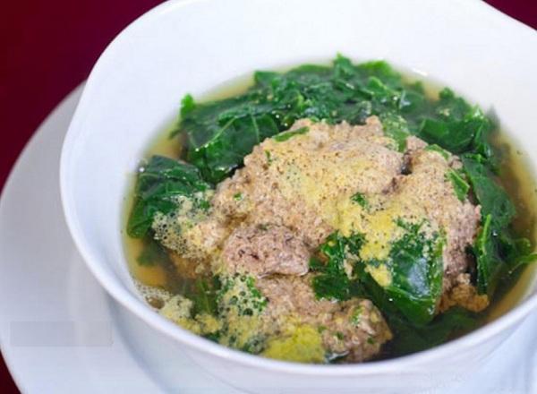 súp cua giảm cân
