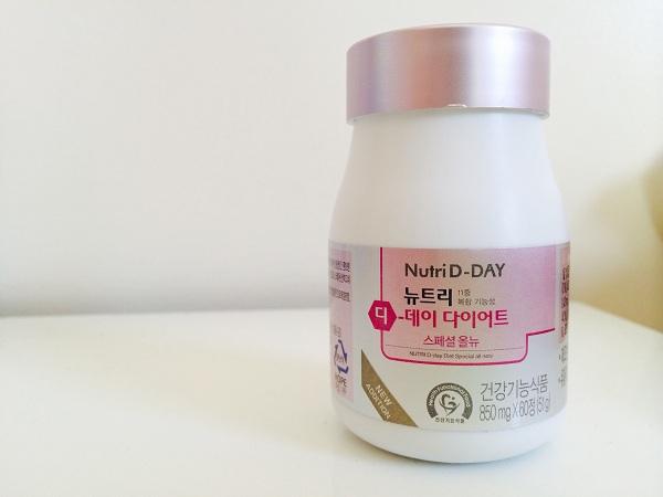 Thuốc giảm cân Nutri D day Hàn Quốc review