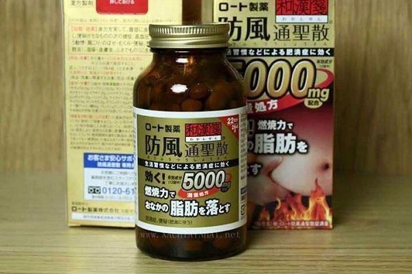 thuốc giảm cân nội địa nhật,thuốc giảm mỡ bụng rohto 5000mg của nhật,review thuốc giảm cân rohto 5000,cách sử dụng thuốc giảm cân rohto 5000mg,