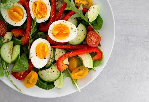 ăn trứng vịt có béo không
