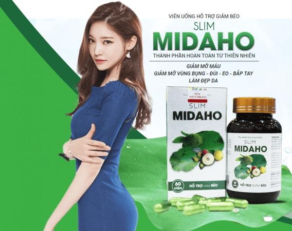 thuốc giảm cân slim midaho,thuốc giảm cân slim midaho có tốt không,thuốc giảm cân slim midaho giá bao nhiêu,giảm cân slim midaho webtretho