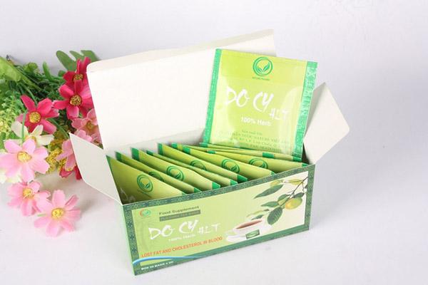 trà giảm cân Docy review
