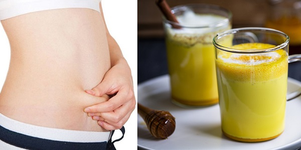 Uống nghệ giảm cân