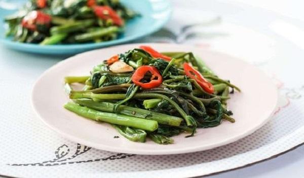 Rau muống có giảm cân không? Những món ăn tuyệt vời vô cùng đơn giản cho thực đơn đa dạng