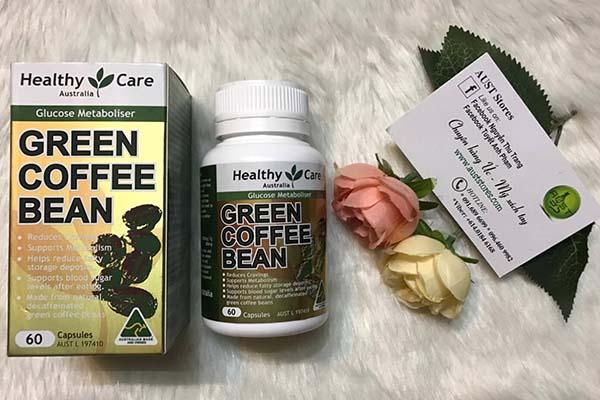 Thuốc giảm cân Green Coffee Bean review