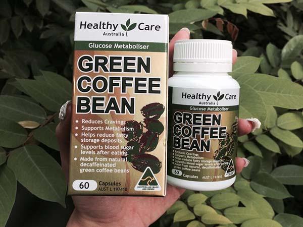 Giảm cân Green Coffee Bean review chi tiết từ người dùng