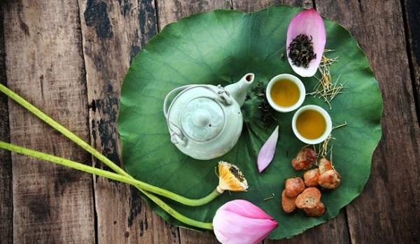 Trà lá sen có giảm cân không? Tuyệt chiêu sở hữu sắc vóc vạn người mê chỉ với trà lá sen