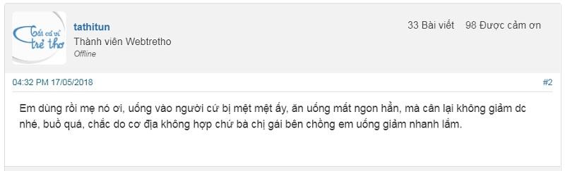 Thuốc giảm cân Họ Nguyễn có tốt không?