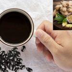 Cân nặng giảm ầm ầm với cách nấu nước đậu đen với gừng giảm cân
