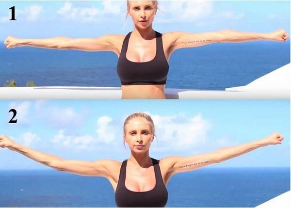 Bắp tay nữ bao nhiêu là đẹp, bài tập giảm bắp tay cho nữ, cách làm nhỏ bắp tay cho phụ nữ bắp tay to
