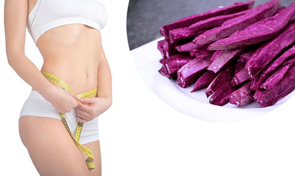 khoai mỡ có giảm cân không, ăn khoai mỡ có giảm cân không, khoai mỡ giảm cân