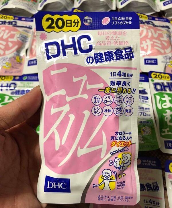 dhc giảm mỡ bụng chitosan, viên uống giảm mỡ bụng chitosan, viên uống giảm mỡ bụng dhc chitosan, thuốc giảm cân chitosan