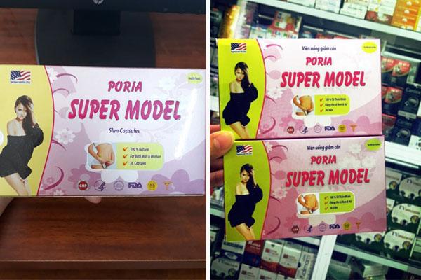 Cần đọc ngay | Thực hư thuốc giảm cân Poria Super Model có tốt không?