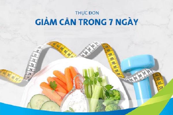 thực đơn giảm mỡ bụng trong 7 ngày, thực đơn giảm mỡ bụng 7 ngày, thực đơn 7 ngày giảm mỡ bụng