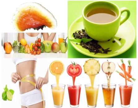 Tổng hợp các loại thức uống giúp giảm cân đẹp da