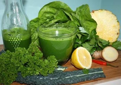 Nước ép cải kale giảm cân