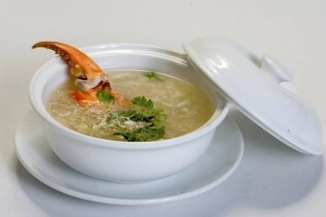 Ăn nhiều súp cua có tốt không, ho ăn súp cua, ăn súp măng cua có mập không