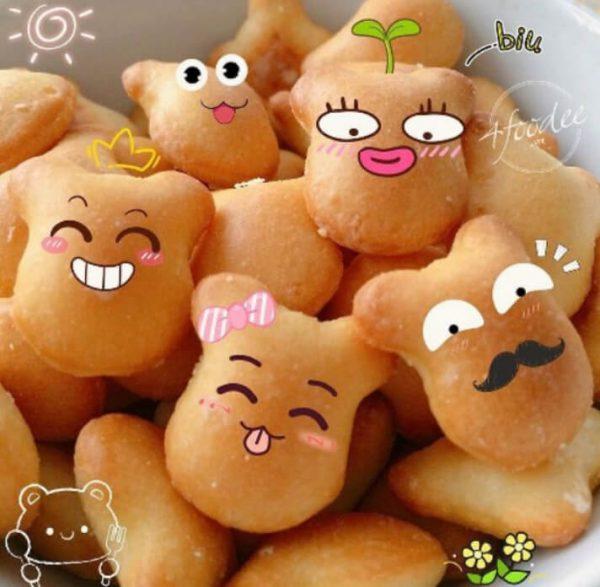 ăn bánh gấu có béo không , 100g bánh gấu bao nhiêu calo
