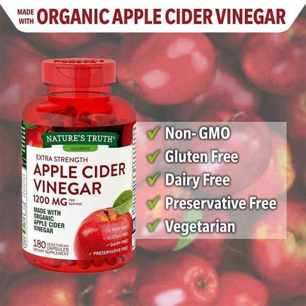 [Review] Kẹo giấm táo giảm cân Apple Cider Vinegar có tốt không?